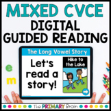 Mixed CVCE Guided Reading Boom Cards™ & Google Slides   SET ONE