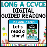 Long A CCVCE Digital Guided Reading   Magic E   Boom & Google