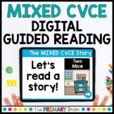 Mixed CVCE Guided Reading Boom Cards™ & Google Slides   SET TWO