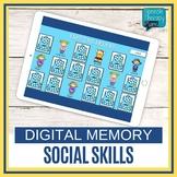 No Prep Digital Social Skills Memory Game