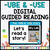 -UBE & -USE Digital Guided Reading Boom Cards™ & Google Slides