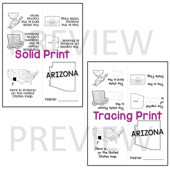 Arizona State Mini-Book