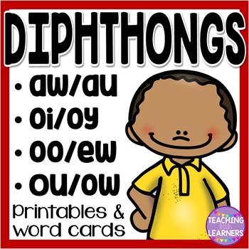 Diphthong Printables
