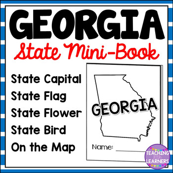 Georgia State Mini-Book