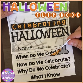 Halloween Flip Book Activity