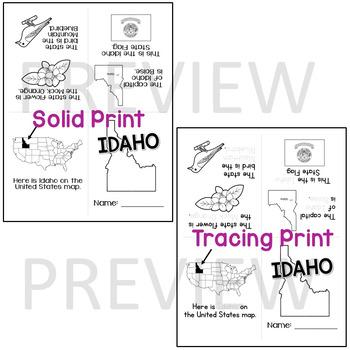 Idaho State Mini-Book