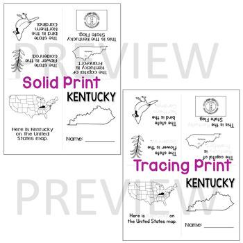 Kentucky State Mini-Book