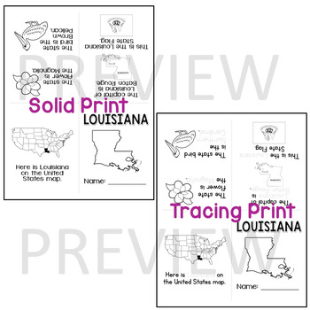 Louisiana State Mini-Book
