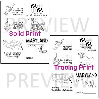 Maryland State Mini-Book