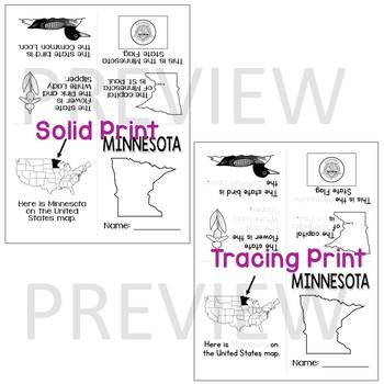 Minnesota State Mini-Book