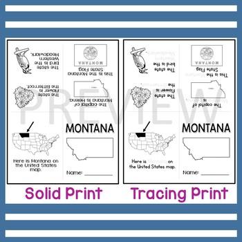 Montana State Mini-Book
