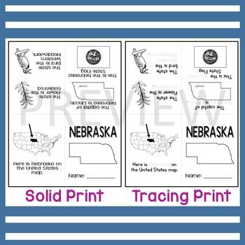 Nebraska State Mini-Book