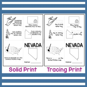 Nevada State Mini-Book