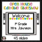 Open House - Meet the Teacher - PowerPoint Editable