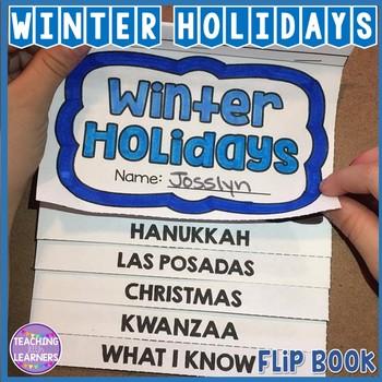 Winter Holidays Flip Book