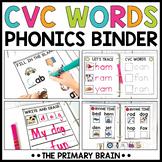 CVC Boost Binder   Phonics Activities for Reading Workshop