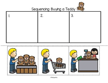 Sequencing Cards Preschool and Kindergarten - 50 Centers & Supporting Printables