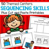 Sequencing Skills - 50 Centers Plus 50 Coordinating Printables Oral Language