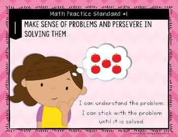 8 Standards of Mathematics Posters K-2