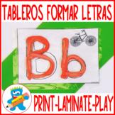 *50% off ABC's Playdough Mats in Spanish Fine Motor Skills