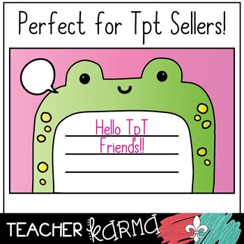 Animal Writing Frames with Speech Bubbles Clipart