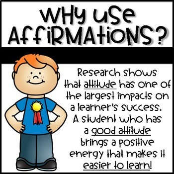 Animated Positive Affirmation Videos for the Classroom - GOOD MORNING