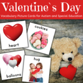 Valentine`s Day Communication Cards for Autism