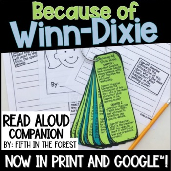 Because of Winn Dixie Read Aloud Companion