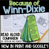 Because of Winn Dixie Read Aloud Companion for Distance Learning