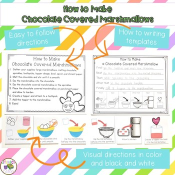 Valentine's Day Cooking: Chocolate Covered Marshmallows {how to writing}