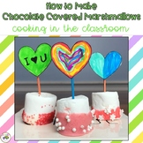 Valentine's Day Cooking: Chocolate Covered Marshmallows {h
