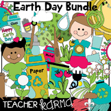 Earth Day Clipart BUNDLE * Seller's Kit * Recycling