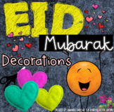 Eid Décor! Ramadan Mubarak! Printable decorations