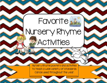 Favorite Nursery Rhyme Activities (Growing Bundle)