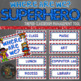 Editable Superhero Themed Where are We Posters