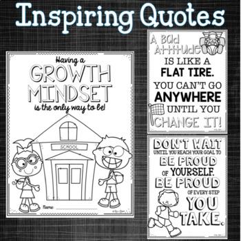 Growth Mindset Booklet