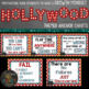 Hollywood Themed Growth Mindset Posters and Morning Messages