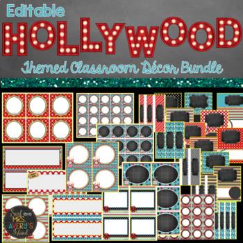 Hollywood Themed Classroom Decor Bundle