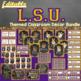 LSU Classroom Decor Bundle - Editable
