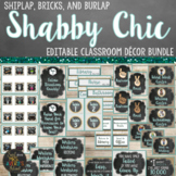 Shabby Chic Farmhouse Classroom Decor Bundle