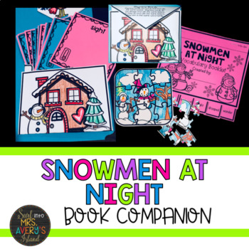 Snowmen at Night Companion and Lapbook Activities