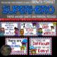 Superhero Themed Growth Mindset Bundle