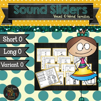 Word Families:  Vowel O Sound Sliders