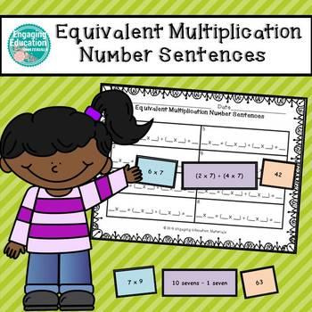 Equivalent Multiplication Number Sentences