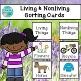Living and Nonliving Sorting Cards & Recording Sheet