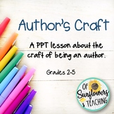 Author's Craft PPT Interactive Lesson