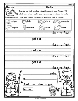 Fishing by Janet Reed, Level B Guided Reading Lesson Plan