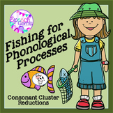 Fishing for Phonological Processes Game (Consonant Cluster Reductions)