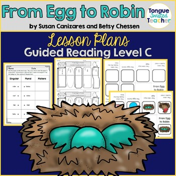 From Egg to Robin by Canizares and Chessen Guided Reading Lesson Plan Level C