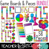 Game Boards & Pieces BUNDLE #1 * Make Your Own Game Seller's Kit